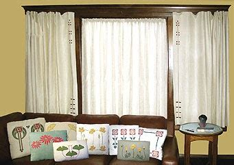 craftsman style curtains arts and crafts and steunk design craftsman style