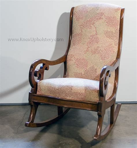 antique upholstered armchairs antique upholstered rocking chair inspirations home