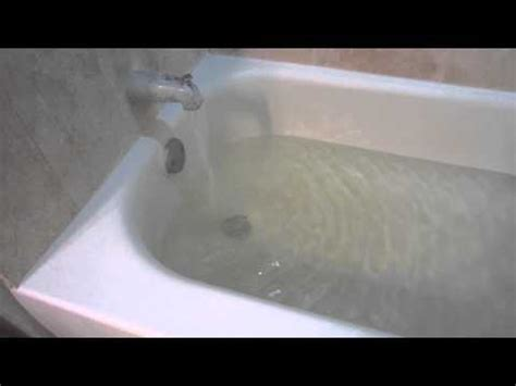 Bathtub Not Draining by Bathtub Filling Up With Water