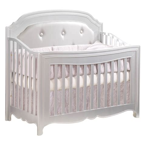 Natart Juvenile Alexa Quot 5 In 1 Quot Convertible Crib With Silver Baby Crib