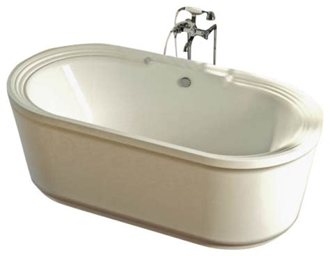 Freestanding Jet Bathtubs Royale Freestanding Whirlpool Jetted Bathtub Traditional