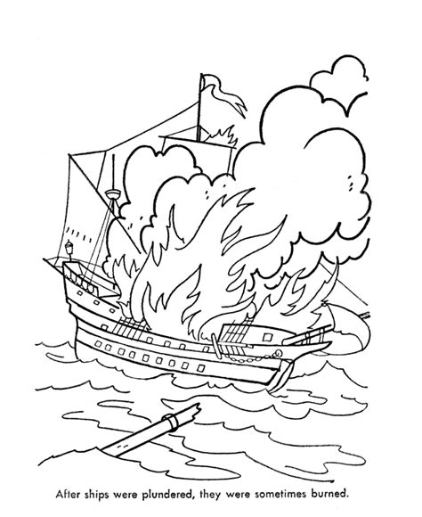 Pirate Coloring Page Coloring Home Pirate Coloring Pages For Coloring Home