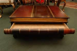 Stacked Book Coffee Table Maitland Smith Stacked Books Coffee Table With Drawers At