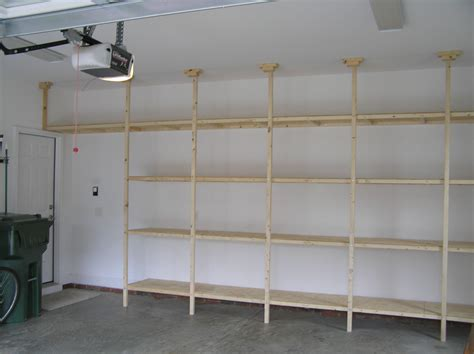built in garage garage shelf idea dream home pinterest