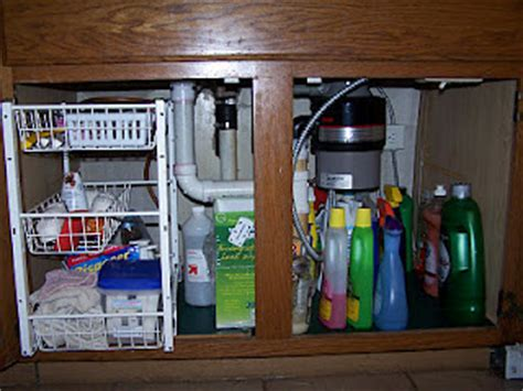 Under Kitchen Sink Cabinet Organization: Ideas You Can Use