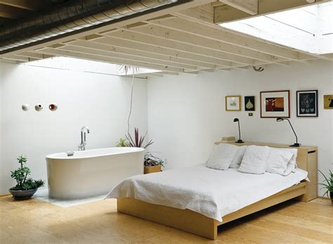 bathtub in bedroom an art studio that would make picasso jealous toronto
