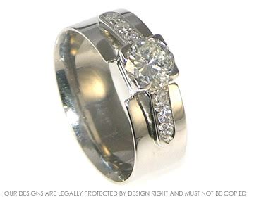 combined engagement wedding ring design platinum and combined wedding and engagement ring