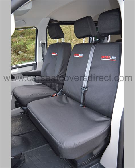 vw transporter bench seat vw t6 seat covers sportline extra heavy duty car seat