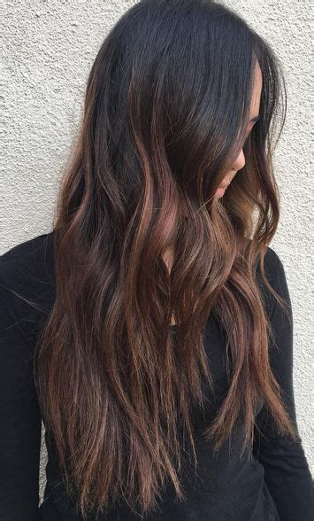 winter hair colors for brunettes best hair color ideas 2017 2018 winter balayage