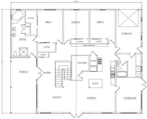 house barn combo floor plans home plan barn house floor plan pole barn home floor