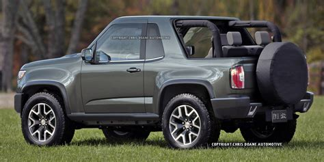 gmc jeep competitor report gmc considering a jeep wrangler competitor