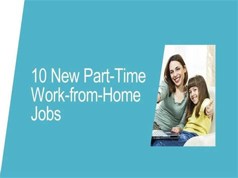 10 new part time work from home authorstream