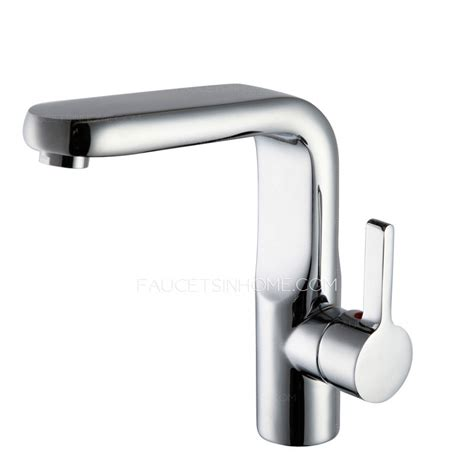 high end copper heightening bathroom vessel mount faucets