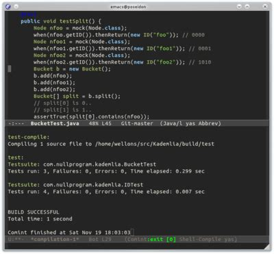 emacs workflow try out my java with emacs workflow within minutes 171 null