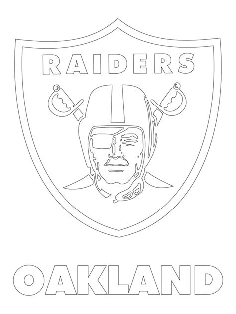 Coloring Pages Nfl Team Logos | free nfl team logos coloring pages