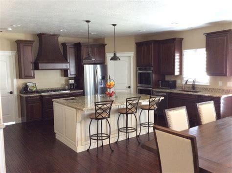 dark kitchen island dark cabinets white island kitchen contemporary with white