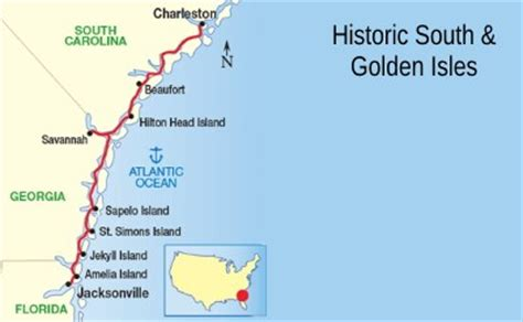 Largest Cruise Line historic south and golden isles cruises out of jacksonville