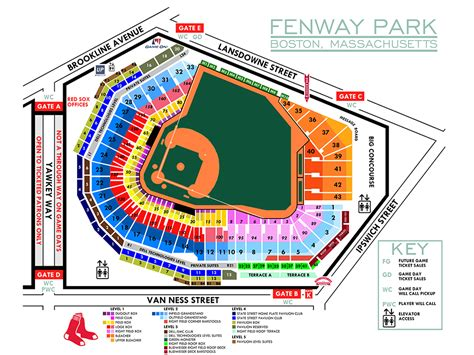 fenway park seating views fenwaynation fenway seating chart papi pedroia betts