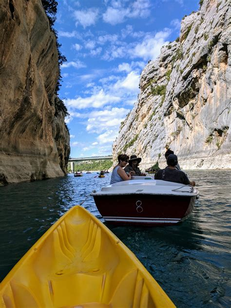 electric boat verdon photo friday getting a tow in gorges du verdon the