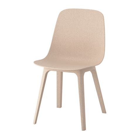 ODGER Chair White/beige   IKEA