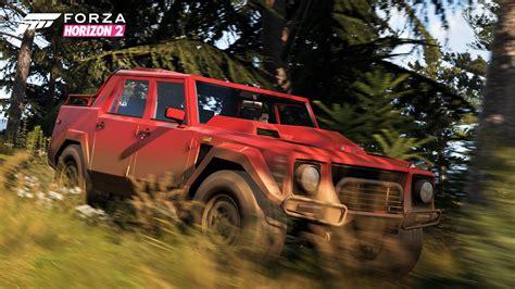 Forza Horizon Barn Finds Cars Lamborghini Lm002 Debuts In Forza Horizon 2 Top Gear Pack