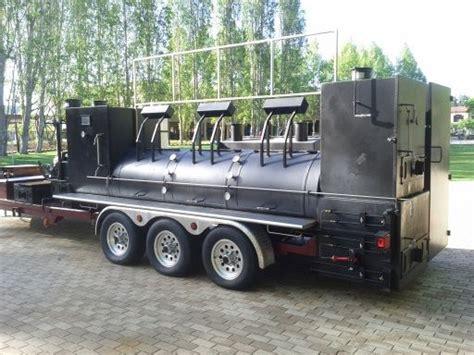 food trucks and pits best 25 custom bbq grills ideas on