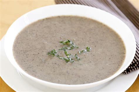mushroom soup creamy mushroom soup recipe taste com au