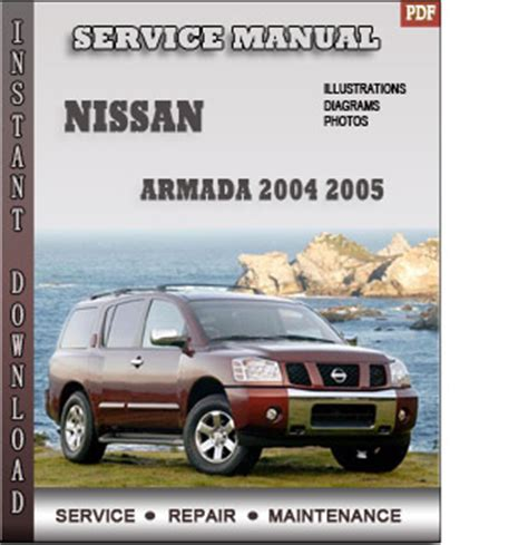 car repair manuals download 2005 nissan armada user handbook service manual service manual 2004 nissan pathfinder armada downloads by tradebit com de es it