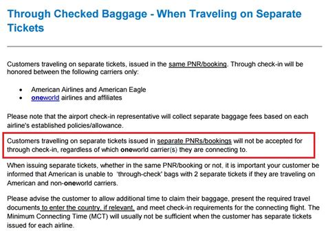 american airline baggage policy american changes checked baggage policy again for the