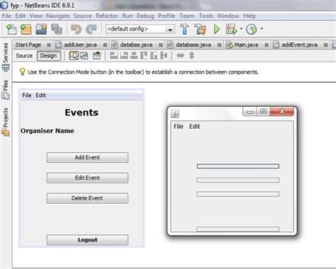 java netbeans forms tutorial java netbeans not displaying form correctly stack overflow