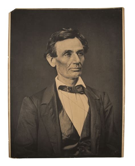 what is lincoln known for lot detail 1860 abraham lincoln largest known photo 20