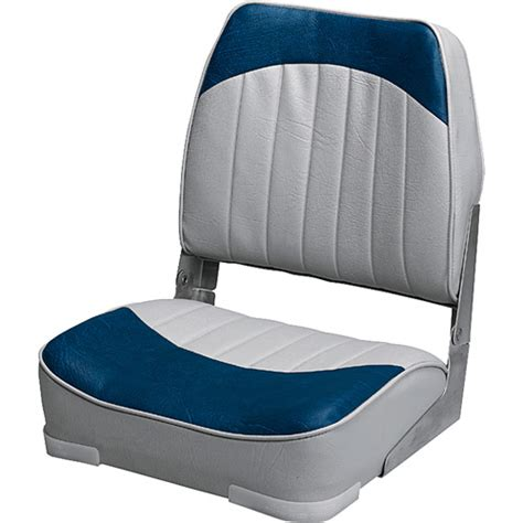 wise boat seat grey navy walmart