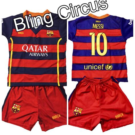 design jersey barcelona barcelona 10 messi home kids jersey shorts youth sizes