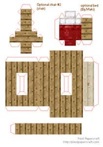Minecraft Papercraft House - minecraft papercraft mini house pictures to pin on