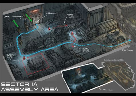 Design Art Level | level design assembly area by yongs on deviantart
