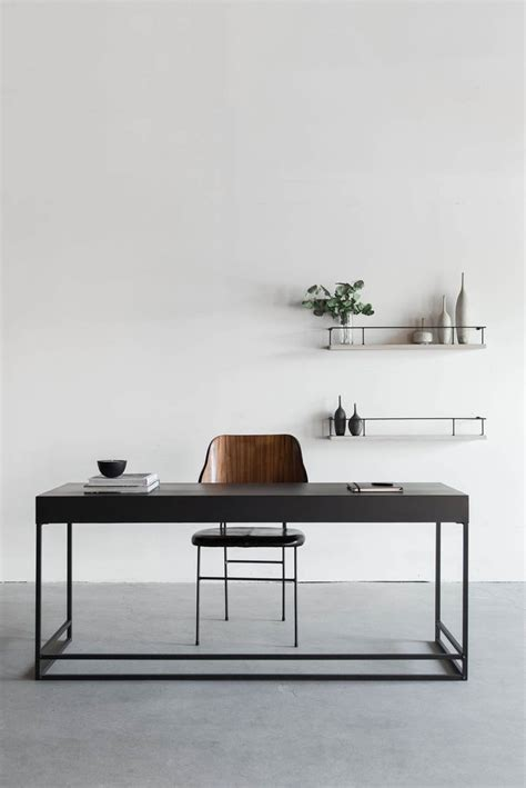 Minimal Work Desk by Chambers Desk Croft House