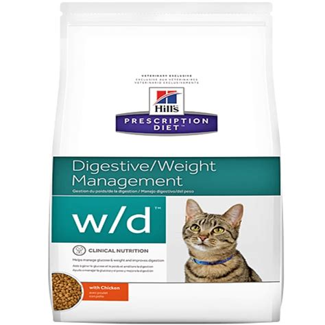 wd food prescription diet feline w d cat food low vets food world