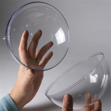 large balls clear plastic balls for display craft and packaging