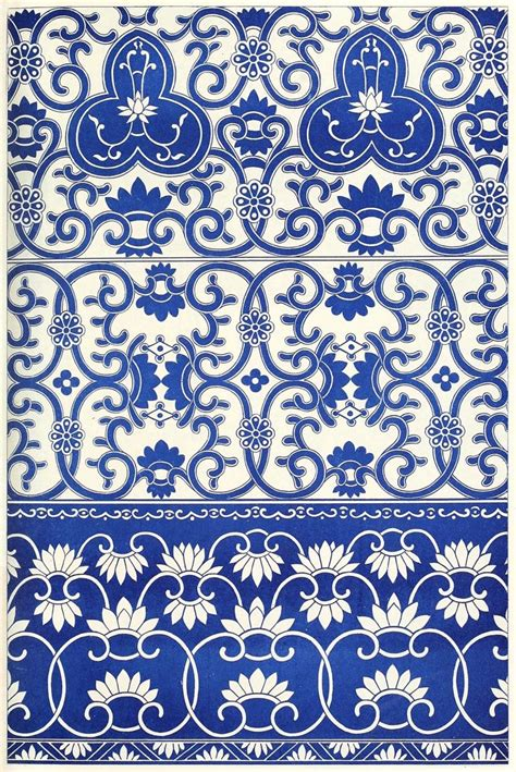 chinese pattern pinterest borders from blue and white china bottles from exles