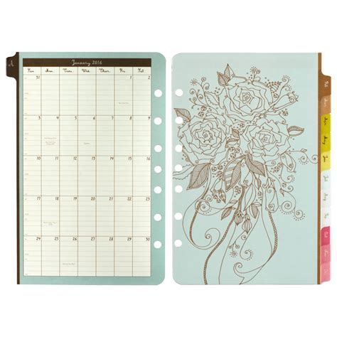 doodle schedule organizer daytimer doodle daily planner refill 2016 5