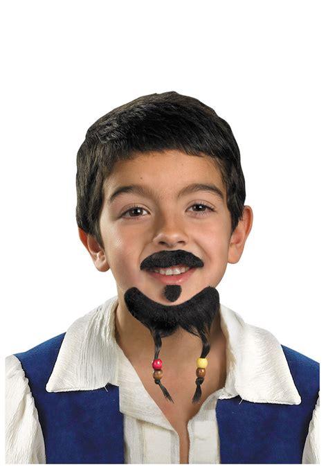 Mustache St Kid kid s sparrow mustache goatee