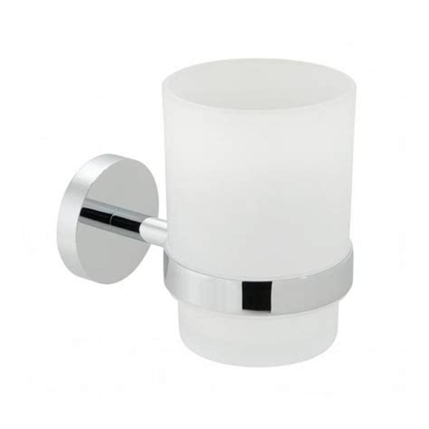 Bathroom Accessories Brands Vado Spa Frosted Glass Tumbler Holder Bathrooms 4 U