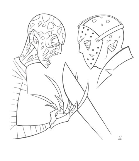 Freddy Vs Jason Coloring Pages Www Imgkid Com The Freddy Vs Jason Coloring Pages