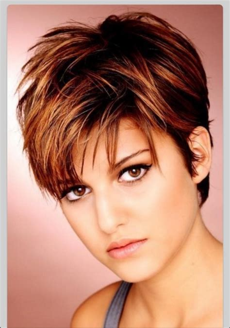 short hairstyles for a woman with a full round face women short hairstyles 2017