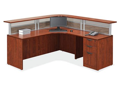 affordable reception desk small reception desk affordable lobby furniture reception
