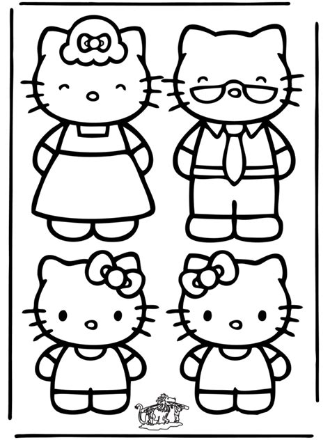 coloring page hello kitty coloring pages 29