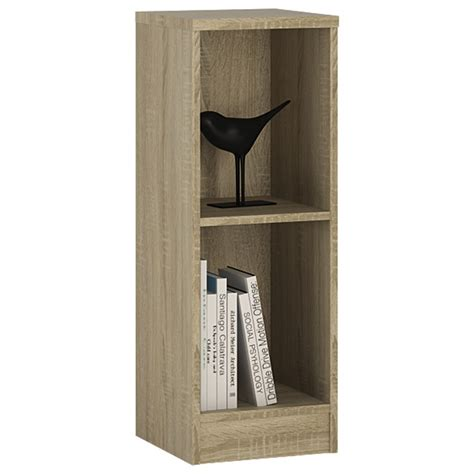 low narrow bookcase 4 you low narrow bookcase in sonama oak