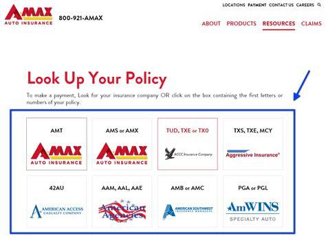 Amax Auto Insurance Login   Make a Payment