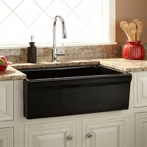 30 fireclay farmhouse sink 30 quot damali fireclay farmhouse sink black ebay