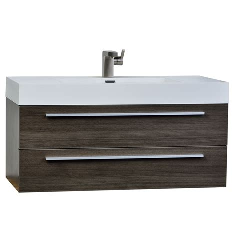 39 bathroom vanity 39 25 inch wall mount contemporary bathroom vanity grey oak tn t1000 go conceptbaths com